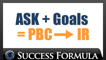 ASK + Goals = PBC - IR